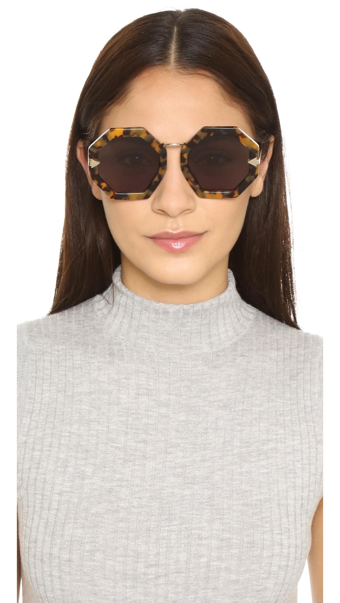 aa43de037d1 Karen Walker Moon Disco Sunglasses