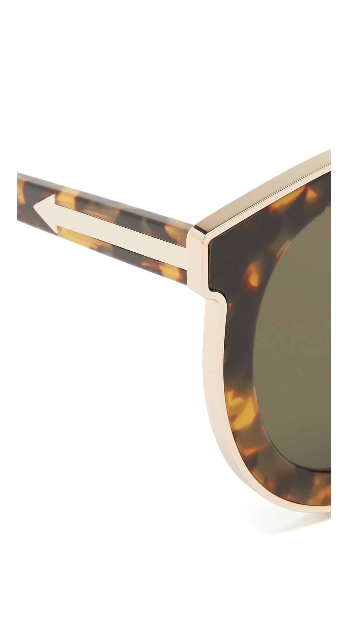 0c06ffd4a376 Karen Walker Super Spaceship Flat Lens Sunglasses