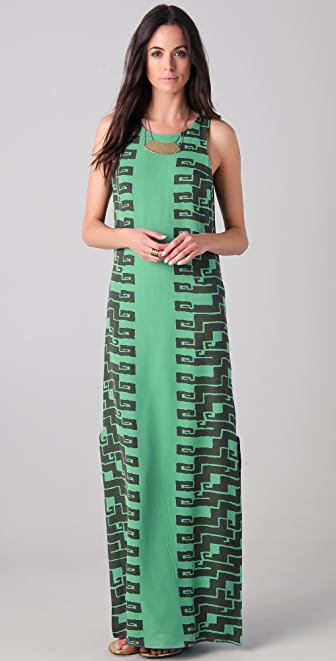 Kelly Wearstler Cadenza Print Maxi Dress