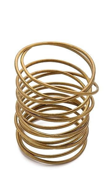 Kelly Wearstler Twisted Brass Bracelet