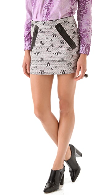 Kelly Wearstler Craft Tweed Skirt