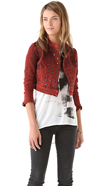 Kelly Wearstler Clash Tar Blasted Jacket