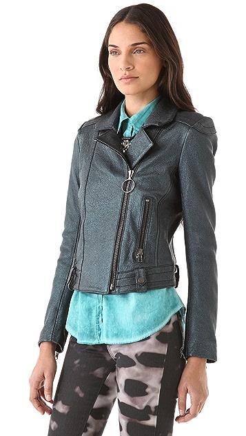 Kelly Wearstler Mercury Leather Jacket