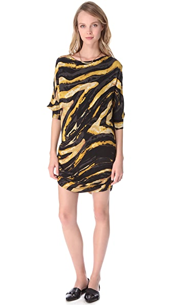 Kelly Wearstler Hidden Dragon Cocoon Dress
