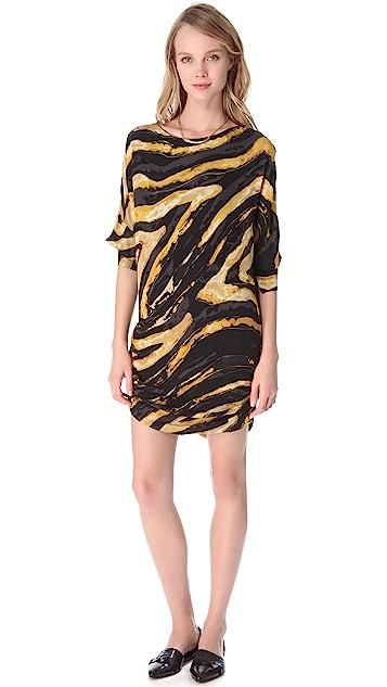 Kelly Wearstler Hidden Dragon Cocoon Dress