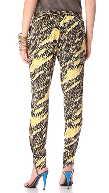Kelly Wearstler Claw Print Pants