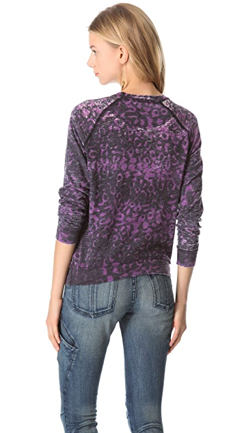 Kelly Wearstler Cheetah Sweatshirt