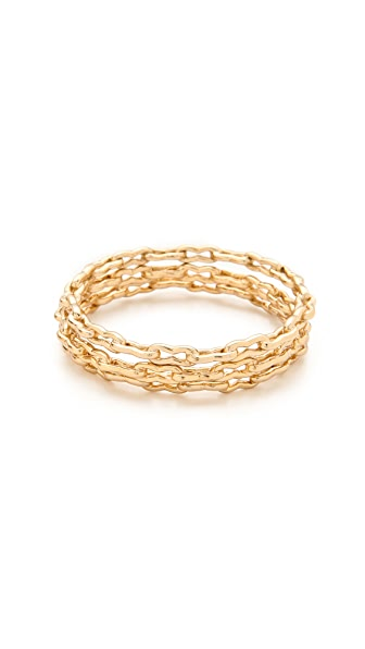 Kelly Wearstler Bent Link Bangle Set