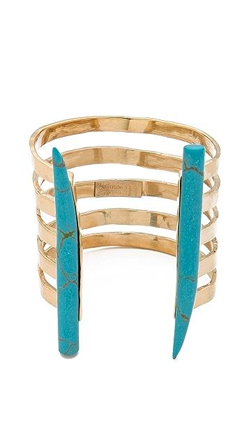 Kelly Wearstler Banded Horn Cuff