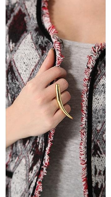 Kelly Wearstler Gold Horn Ring