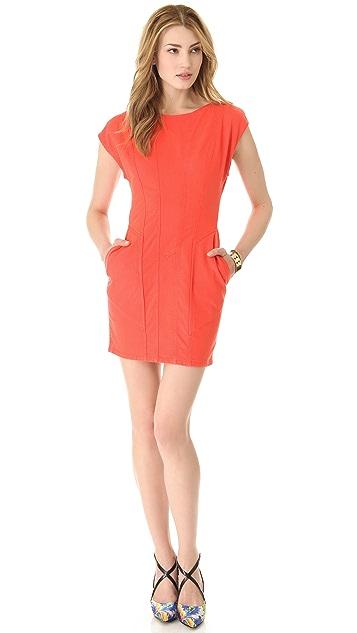 Kelly Wearstler Mineral Open Back Denim Dress