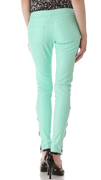 Kelly Wearstler Faux Leather Annual Pants