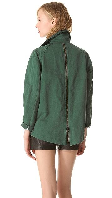 Kelly Wearstler Ornamented Linen Jacket