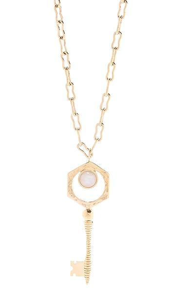 Kelly Wearstler Key Pendant Necklace