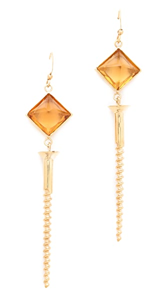 Kelly Wearstler Screw Facet Earrings
