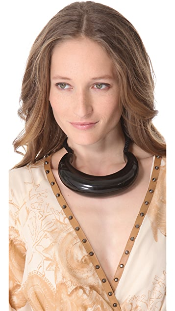 Kelly Wearstler Lacquer Curved Necklace