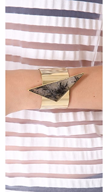 Kelly Wearstler Quartz Point Cuff