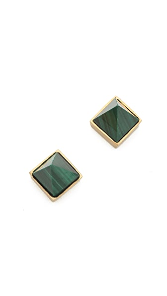 Kelly Wearstler Malachite Point Earrings