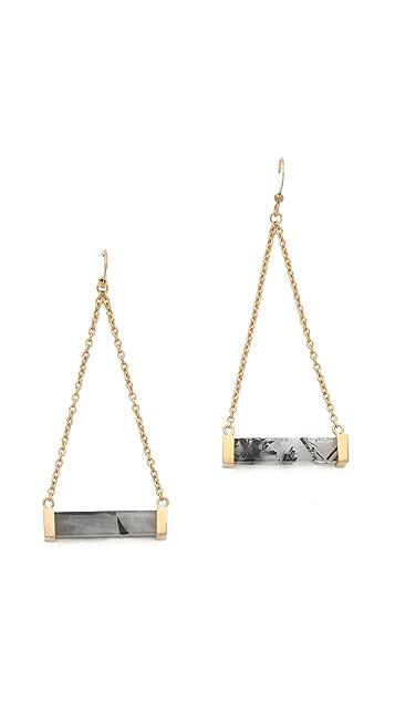 Kelly Wearstler Stone Rod Earrings