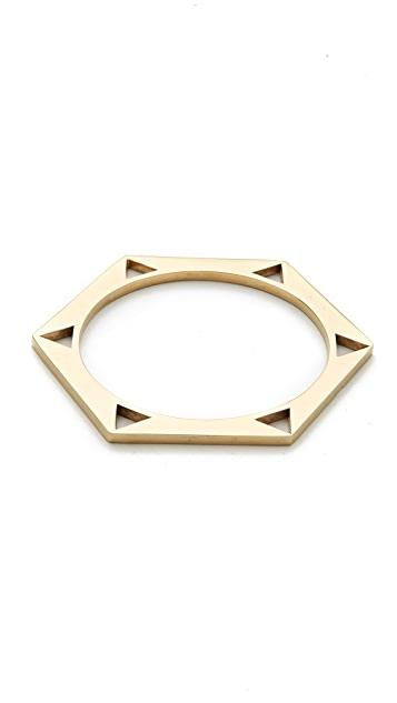 Kelly Wearstler Hexagon Bangle