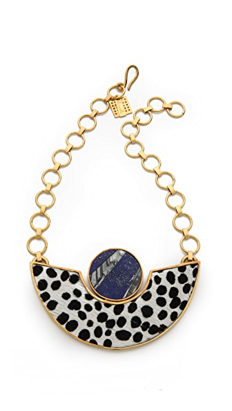 Kelly Wearstler Memphis Haircalf Necklace
