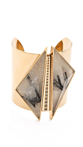 Kelly Wearstler Black Diamond & Quartz Cuff