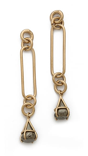Kelly Wearstler Pyrite Drop Earrings