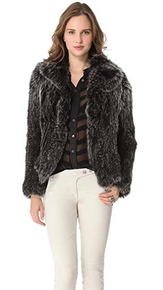 Kymerah Carmen Starling Fur Jacket