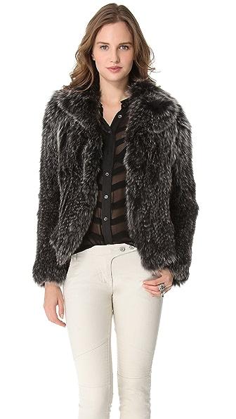 Kymerah Carmen Starling Fur Jacket