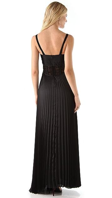 Kymerah Berri Sunburst Gown with Contrast Lace