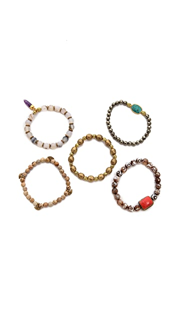 Lacey Ryan Happiness Bracelet Set