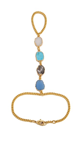 Lacey Ryan Multi Stone Hand Chain