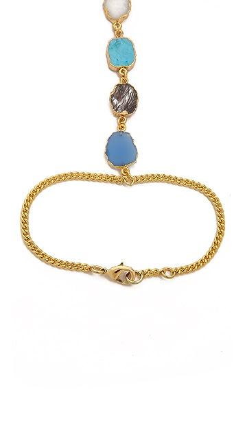 Lacey Ryan Multi Stone Hand Chain