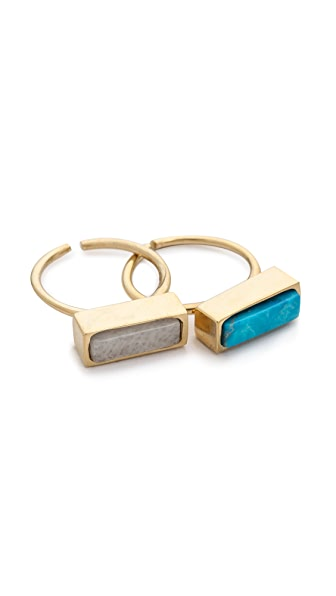 Lacey Ryan Colorblock Ring Set