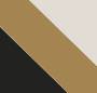 Black/Gold/Silver