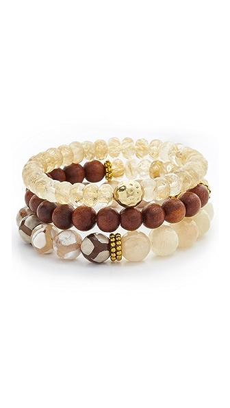 Lacey Ryan Yellow Triple Bracelet Set