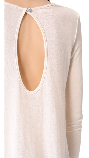 The Lady & The Sailor Keyhole Top