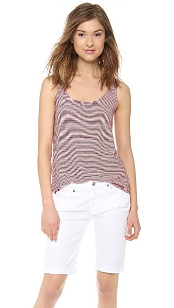 The Lady & The Sailor Round Bottom Tank