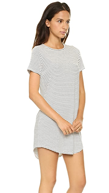 The Lady & The Sailor Round Bottom Dress
