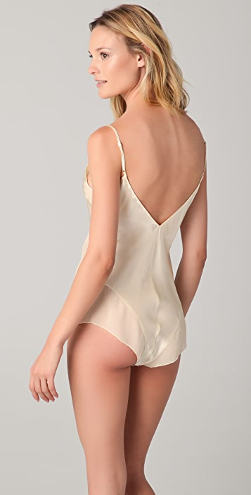 La Fee Verte Silk Bodysuit