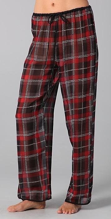 La Fee Verte Plaid Pants Set