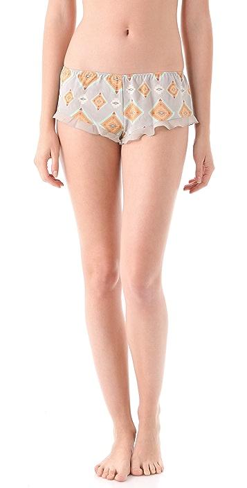 La Fee Verte Silk Boy Shorts