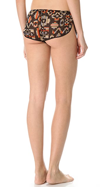 La Fee Verte Silk Shorts