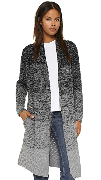 La Fee Verte Transition Long Cardigan