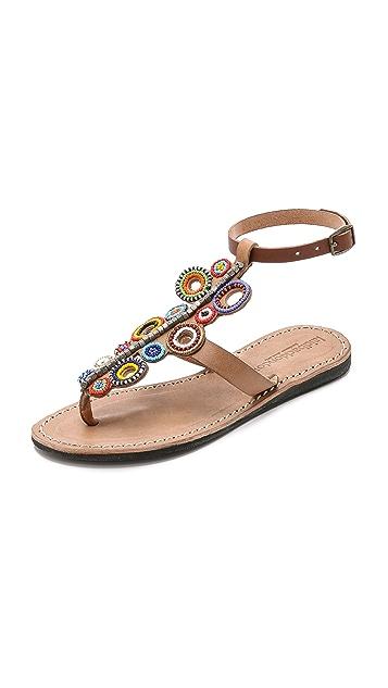 Laidback London Skye Beaded Sandals