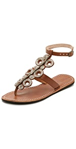 Skye Beaded Sandals                Laidback London