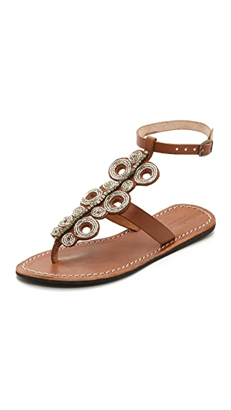 Laidback London Skye Beaded Sandals