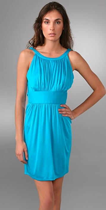 Laila Azhar Cowl Back Dress