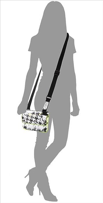 L.A.M.B. Acid Houndstooth Darlington Cross Body Bag