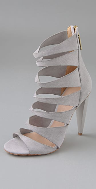 L.A.M.B. Quintessa Twist Booties